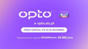 OPTO - Plataforma de streaming da SIC chega dia 24 de novembro