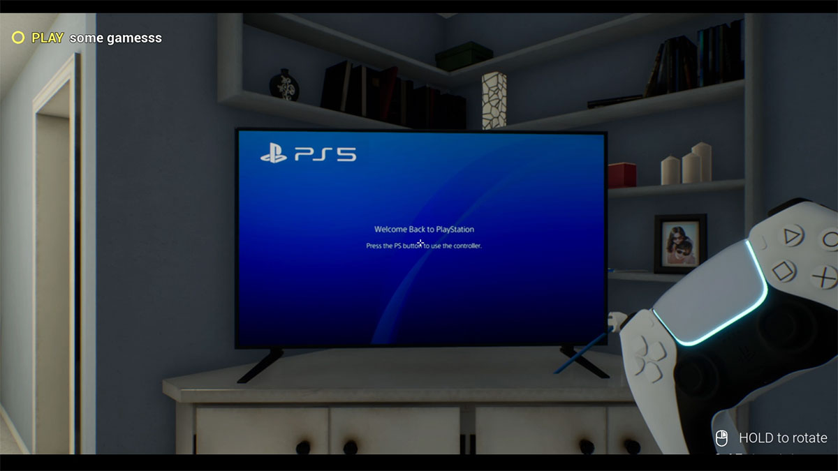 playstation 5 simulador montagem