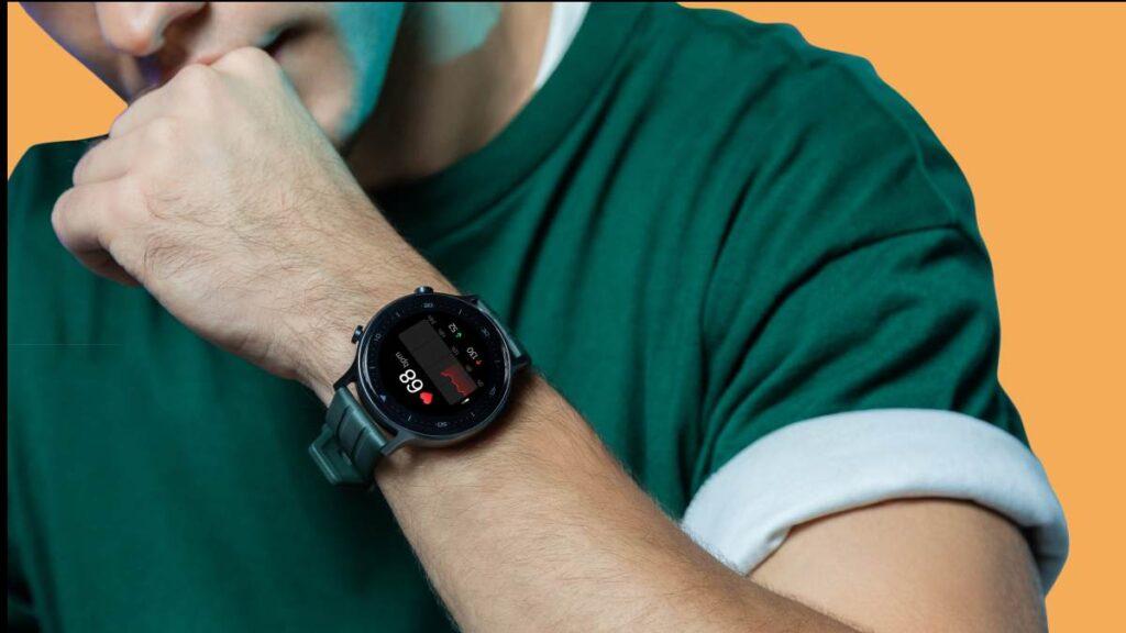 realme watch s medicao pulsacao