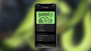 Retro Widget 2 - O jogo Snake à distância de um clique no seu iPhone