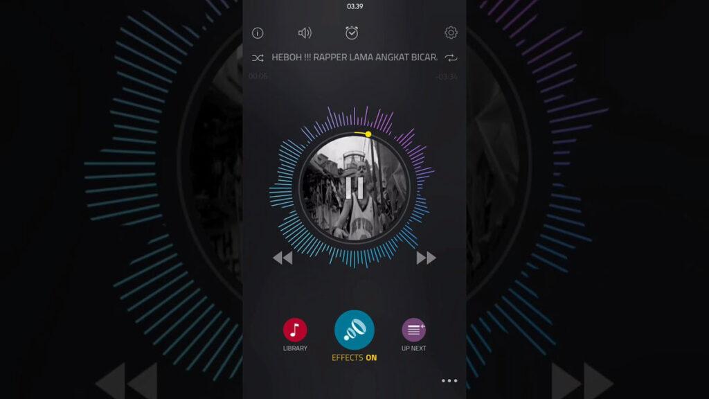 boom leitor musica equalizador android ios