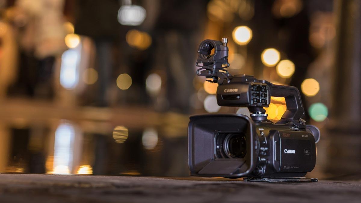 camara video canon xf405