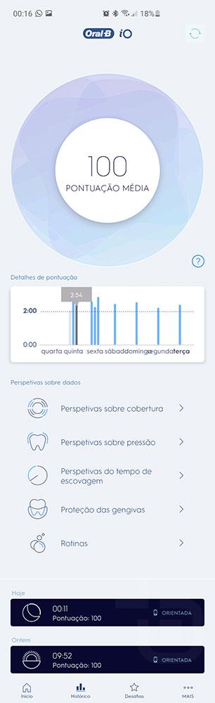 analise Oral-b io series 8