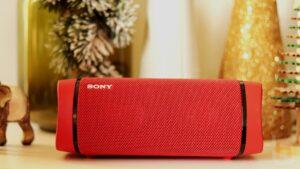 Análise coluna Sony SRS-XB33 - Resistência e autonomia sem comprometer a qualidade de som