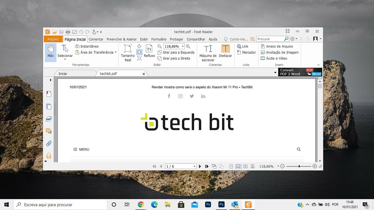 escolher app abrir pdf windows 10