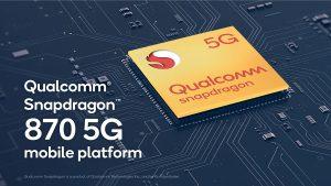 Qualcomm lança Snapdragon 870 5G para equipar smartphones de gama alta