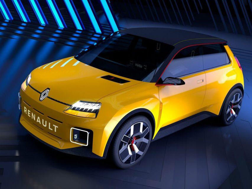 Renault 5 irá ser relançado numa versão 100% elétrica