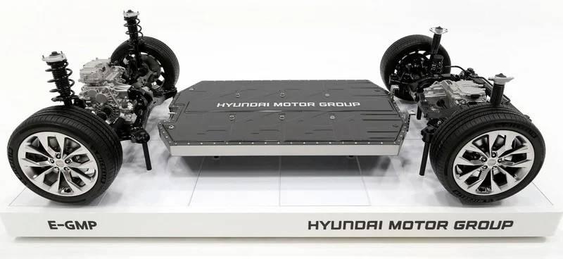 hyundai e-gmp batery eletric vehicle bev platform