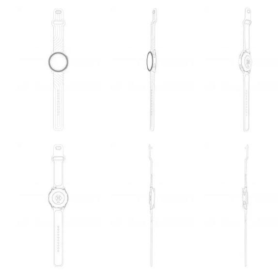 oneplus watch esquemas patente