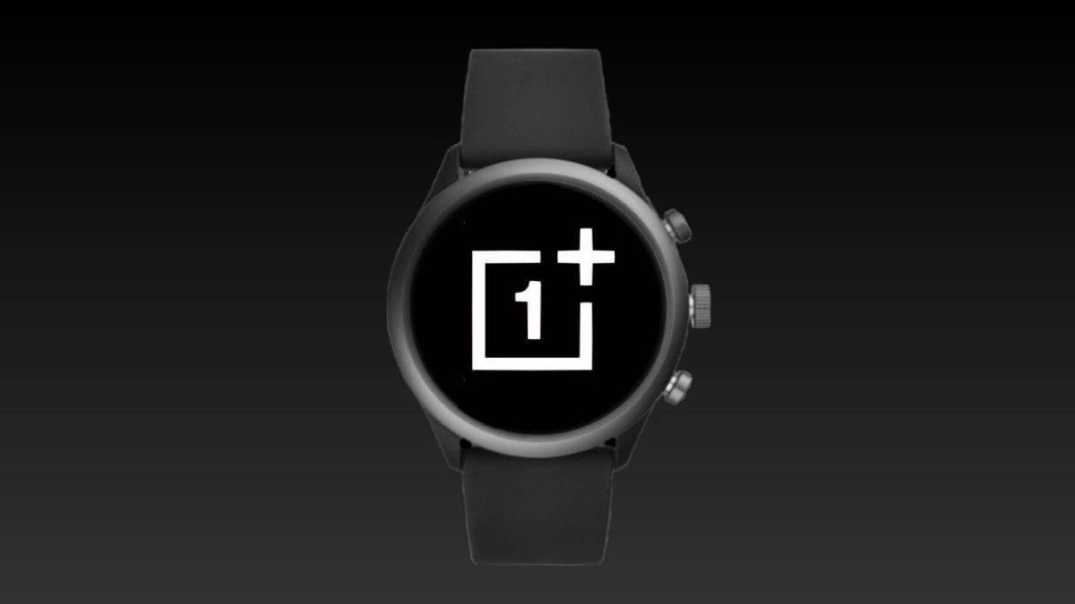 oneplus watch frente