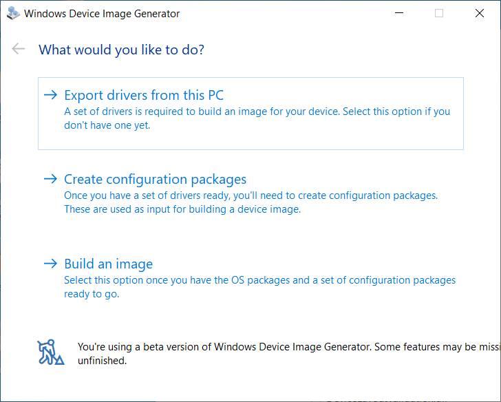 windows 10x image generator