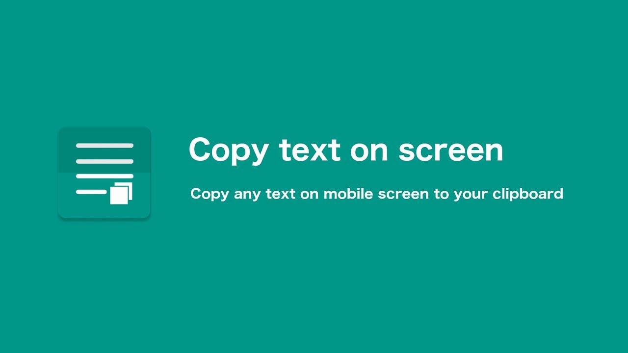 copiar texto de imagem android