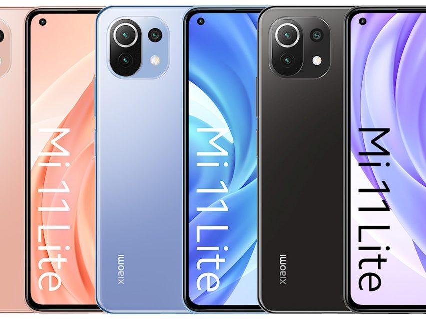 Estas são as características e preço do Xiaomi Mi 11 Lite 4G/5G