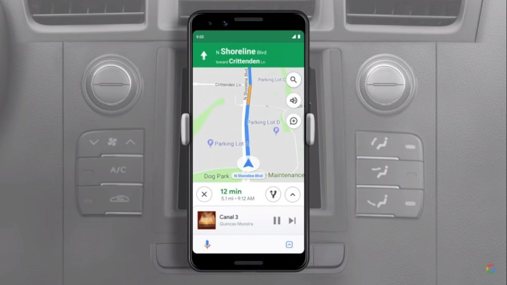 modo conducao google assistant android