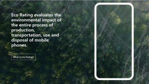 Etiqueta Eco Rating será lançada na Europa para medir o impacto ambiental dos smartphones