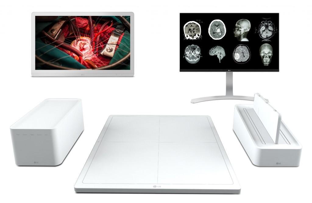 LG reforça a área da saúde com raio-X digital com Inteligência Artificial