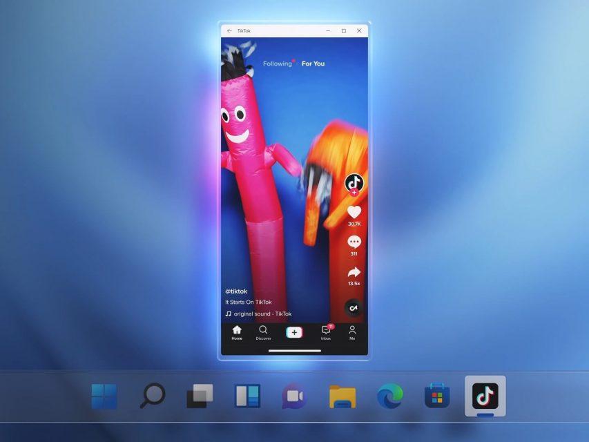 Windows 11 irá permitir instalar aplicações Android fora da Microsoft Store