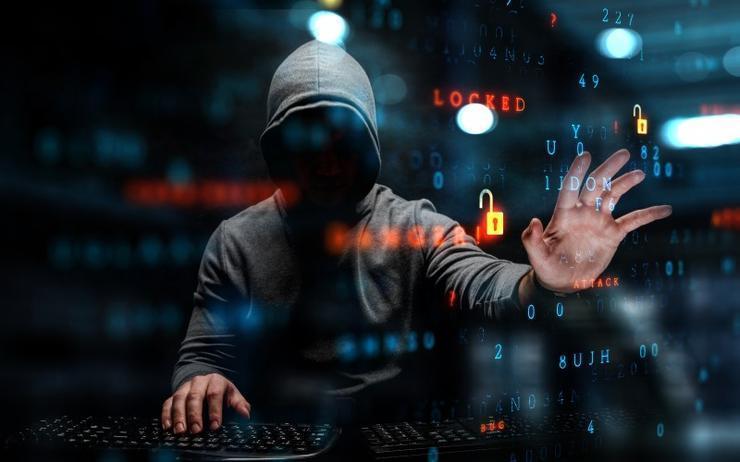 Hacker PC Virus Ataque Ransomware Nobelium