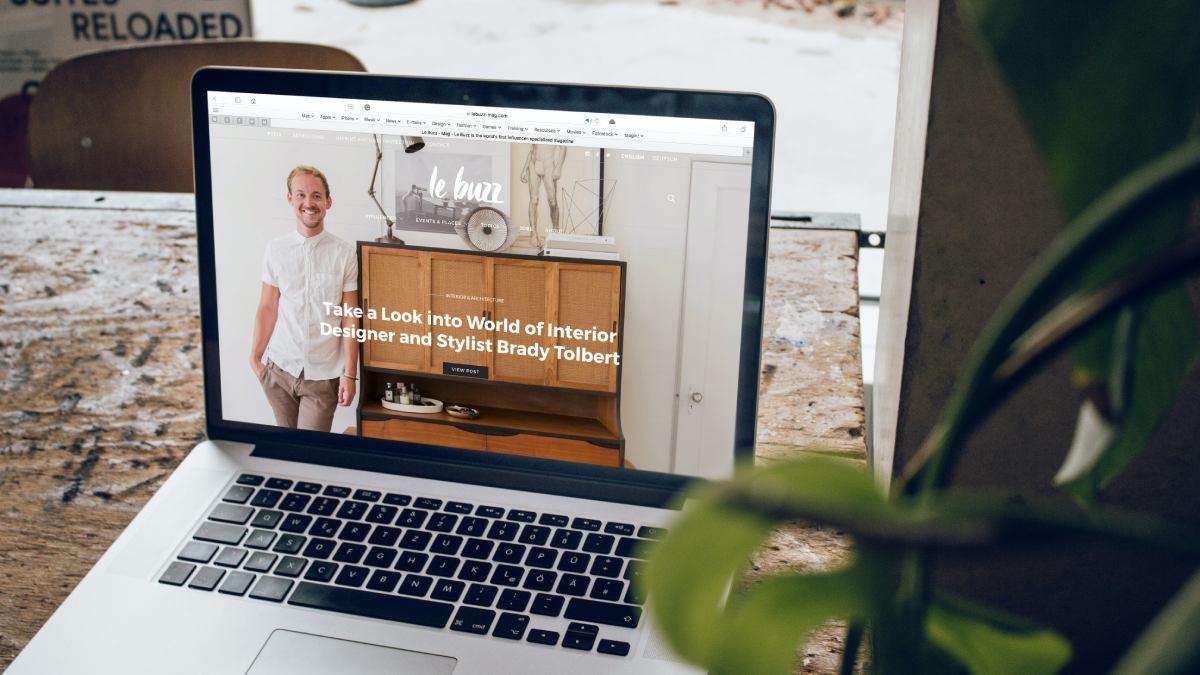 criar website profissional