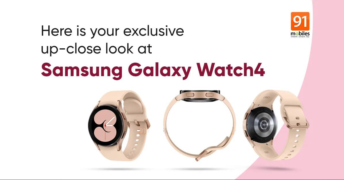 Galaxy Watch 4 surge em imagens com design muito semelhante ao Active 2