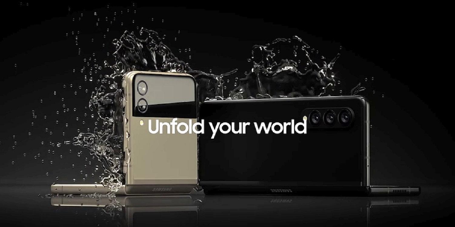 Galaxy Z Fold 3 Z Flip 3 leak evan blass