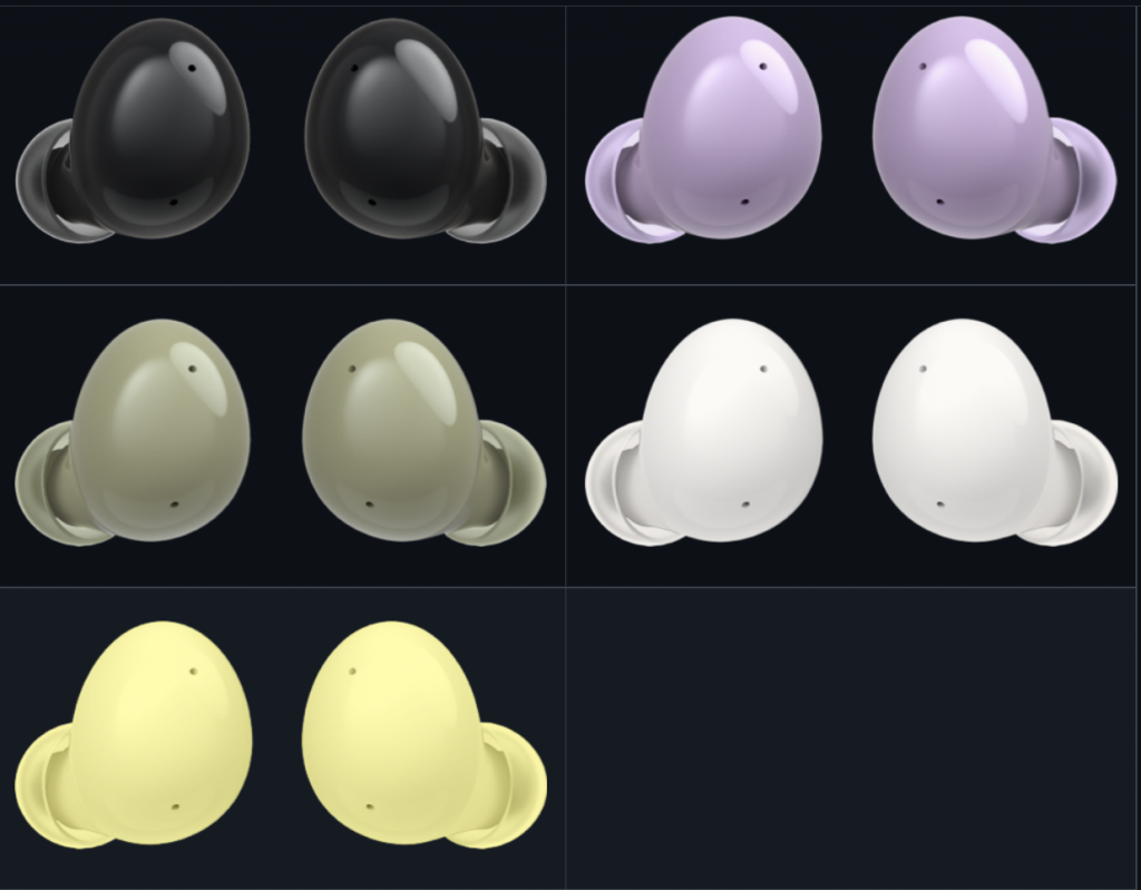 Galaxy Buds 2 cores