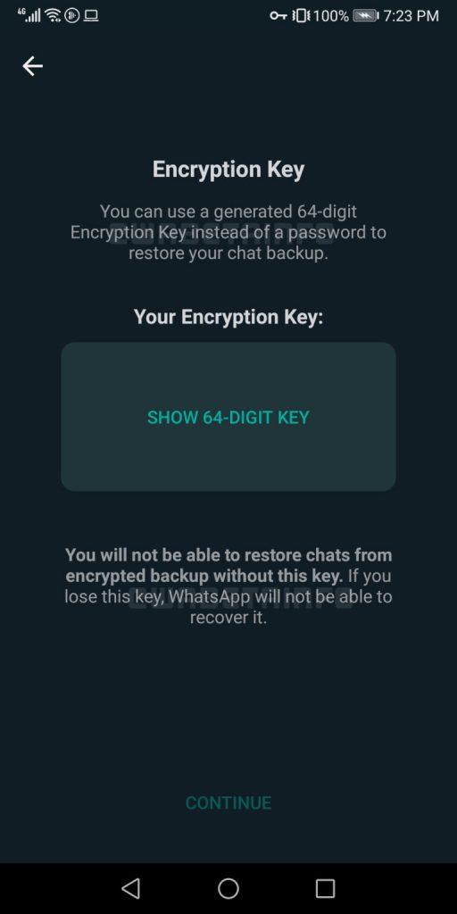 whatsapp ecriptado