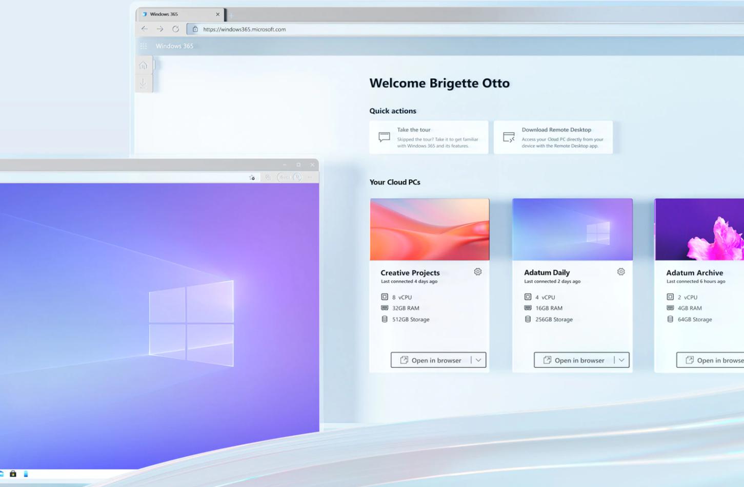 Windows 365 microsoft cloud