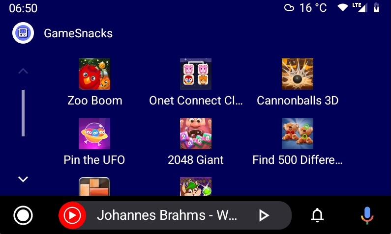 android auto beta jogos