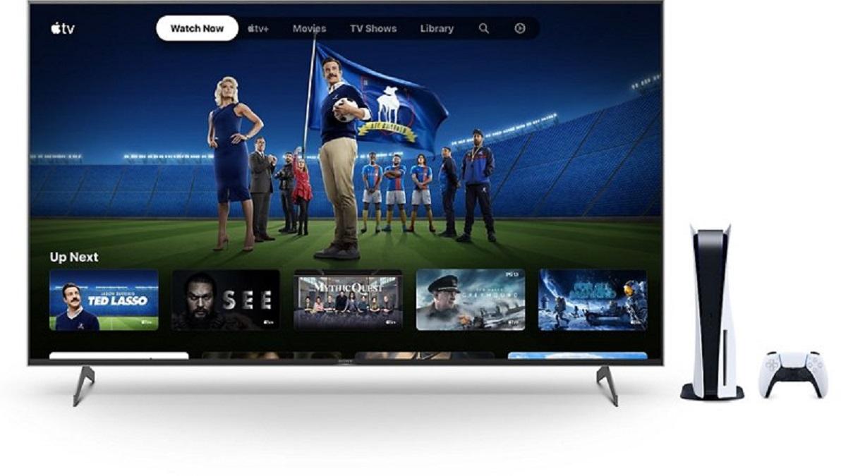 sony apple tv plus ps5
