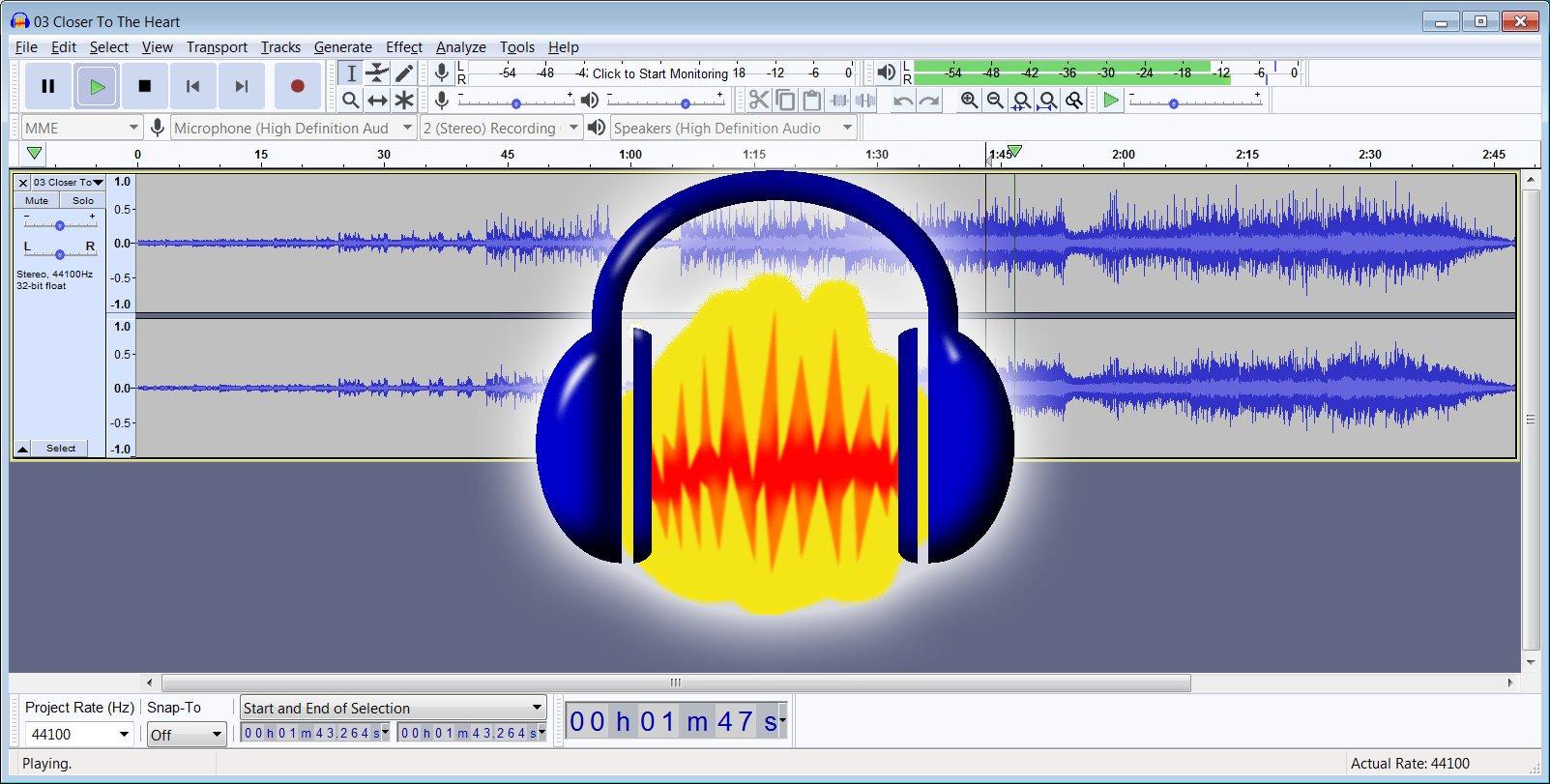 Audacity logo programa edicao audio