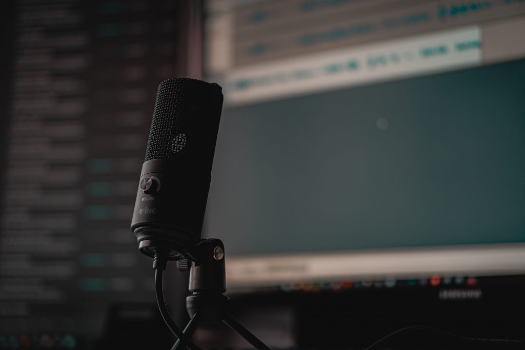 microfone micro audio editor