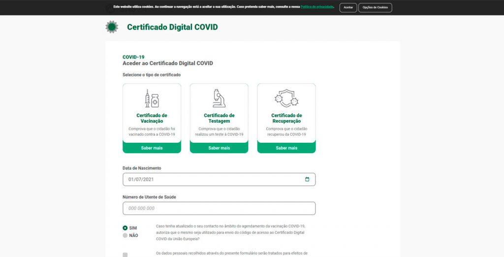 certificado digital covid como pedir