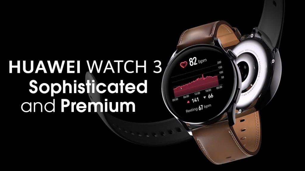 huawei watch 3 smartwatch