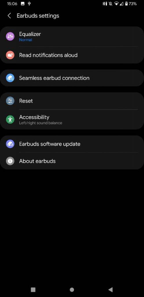 Galaxy Buds 2 app