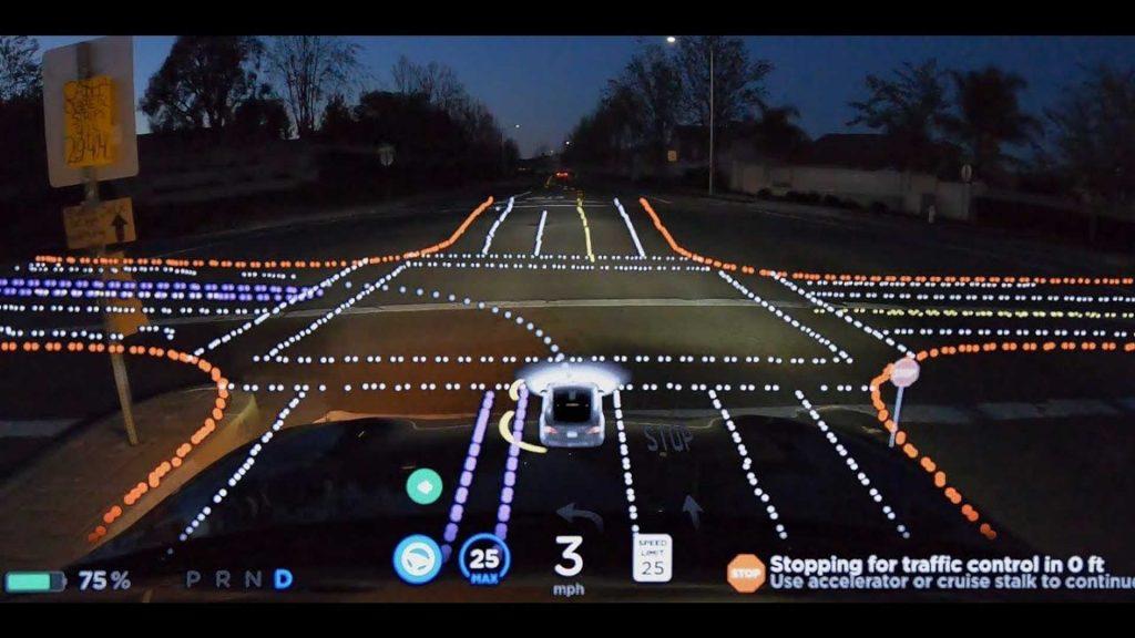TESLA FSD full self-driving