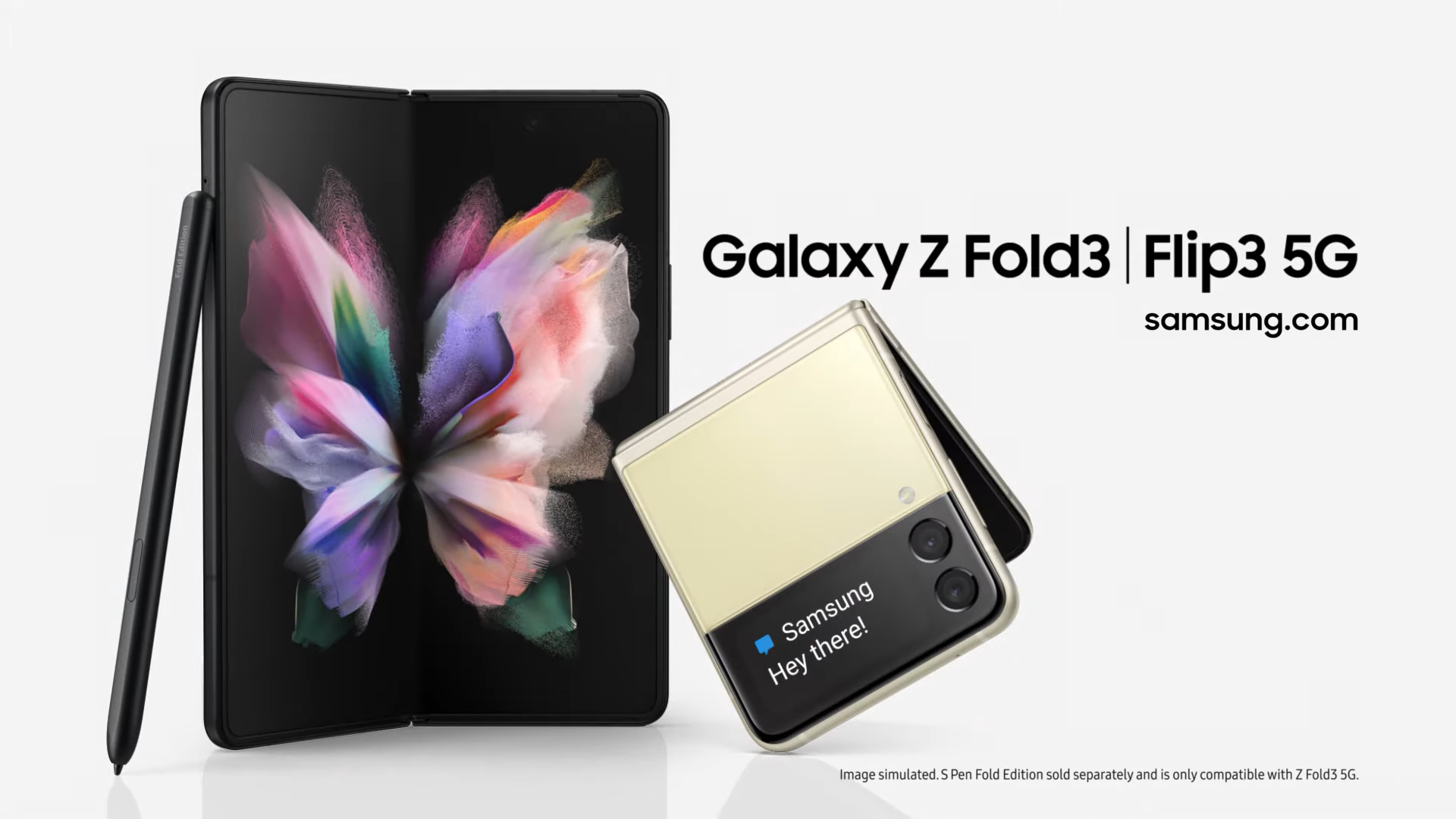 Fold and Flip samsung Galaxy Unpacked