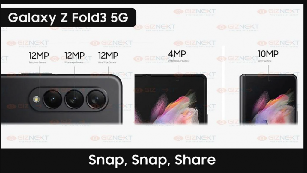 Galaxy Z Fold 3 samsung smartphone