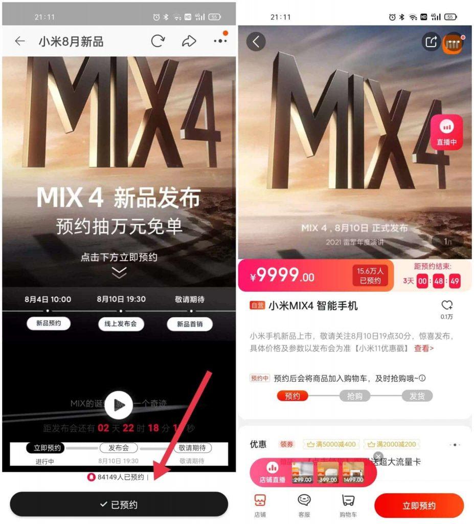 b89e79f1b79b445b9285b1bdf5954e9a 1390x1536 1 Xiaomi Mi Mix 4