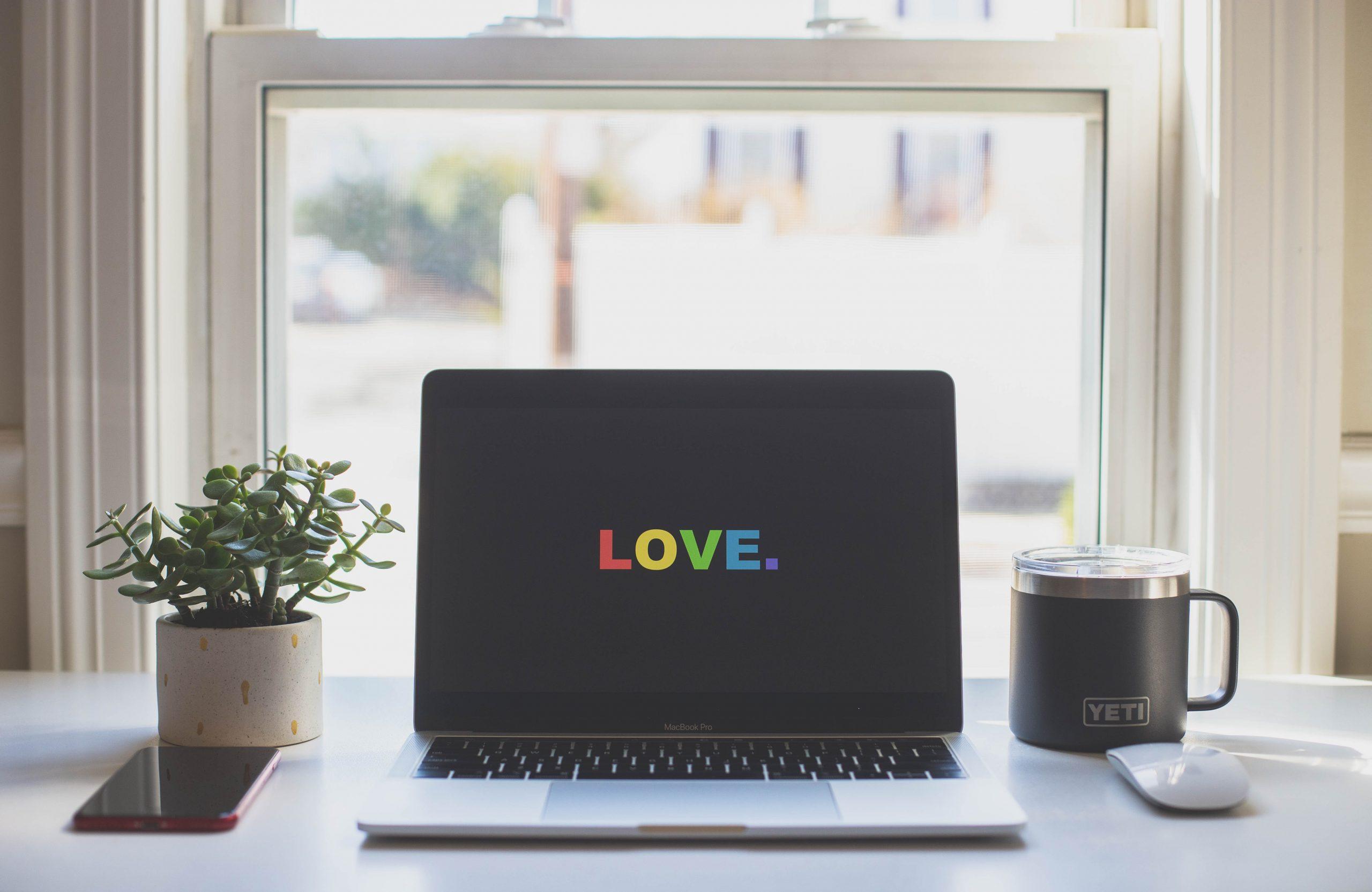 Love tech computador amor dating