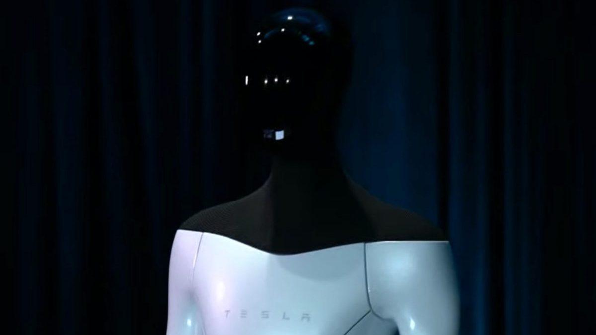 tesla bot robot