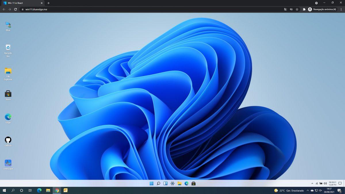 windows 11 no navegador